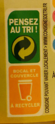 Asperges blanchs grosses - Recycling instructions and/or packaging information - fr