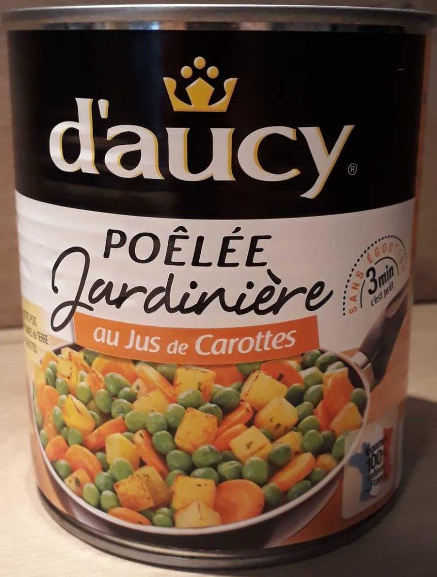 Poêlée Jardinière au jus de carottes - Produit