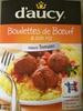 Boulettes de Bœuf & son riz sauce tomate - Producto