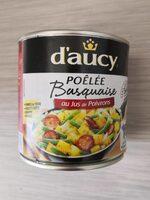 Poêlé basquaise au jus de poivrons - Produit - fr