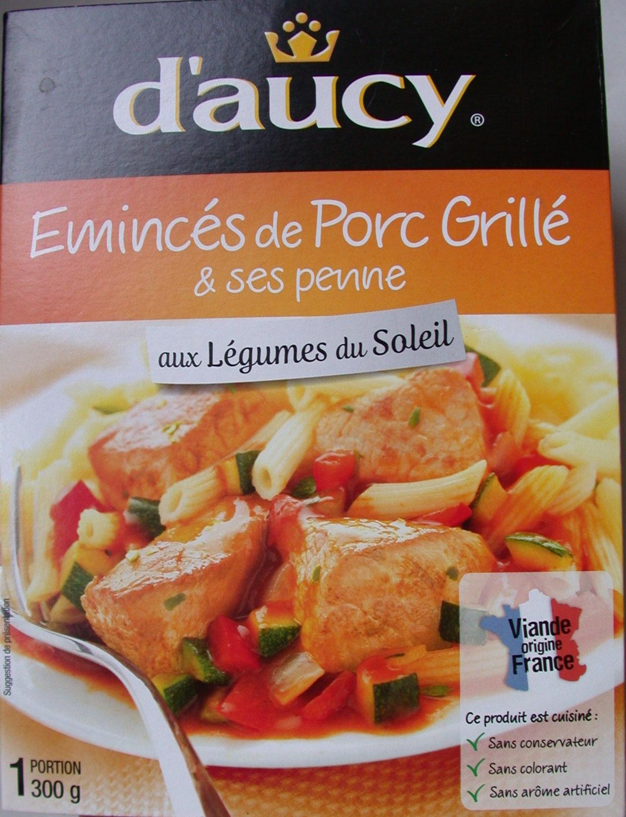 Emincés de porc grillé et ses penne - Product - fr