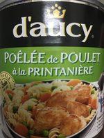 Poêlée de poulet - Product