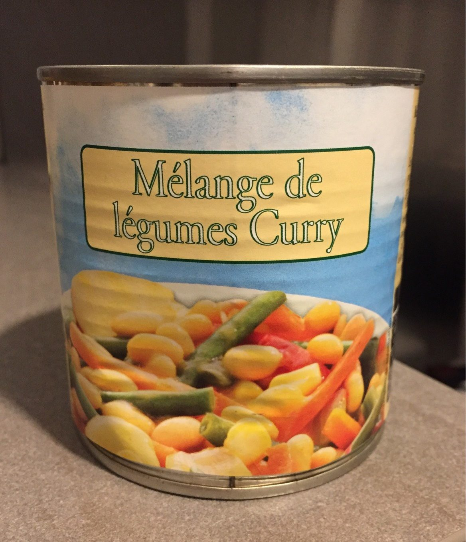Mélange de légumes Curry - Product