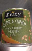 Legumes & cereales duo de carottes épeautre et orge - Product