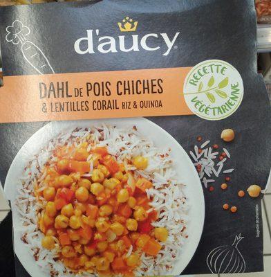 Dahl de pois chiches & lentilles corail riz & quinoa - Produit - fr