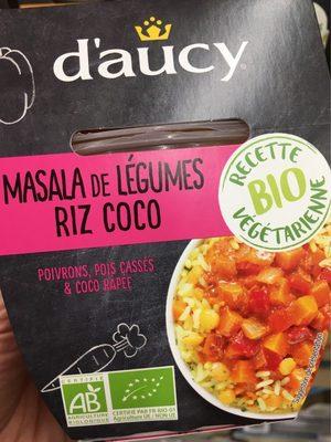 Masala de légumes riz coco - Produit - fr
