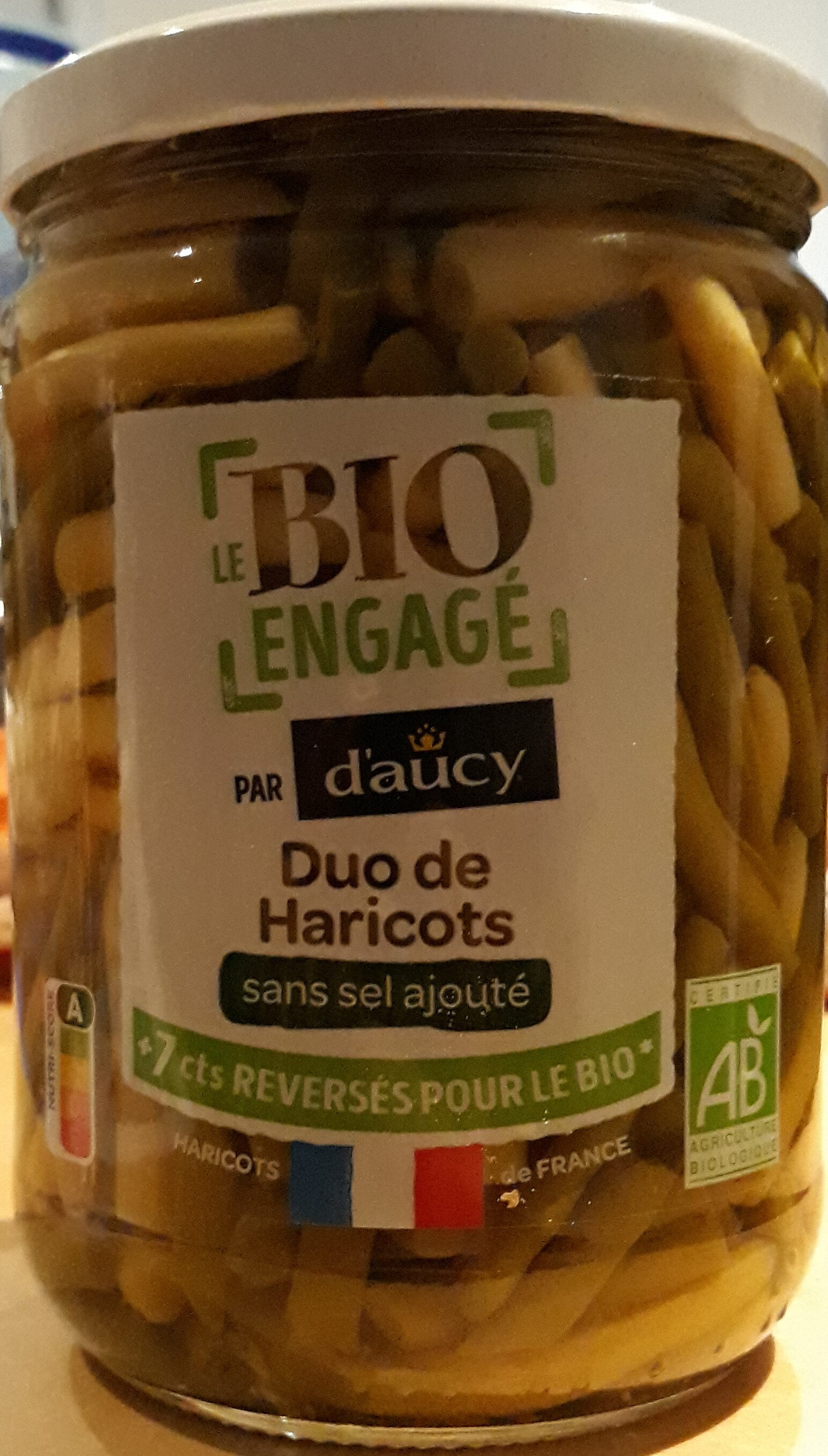 Duo de haricots - Product