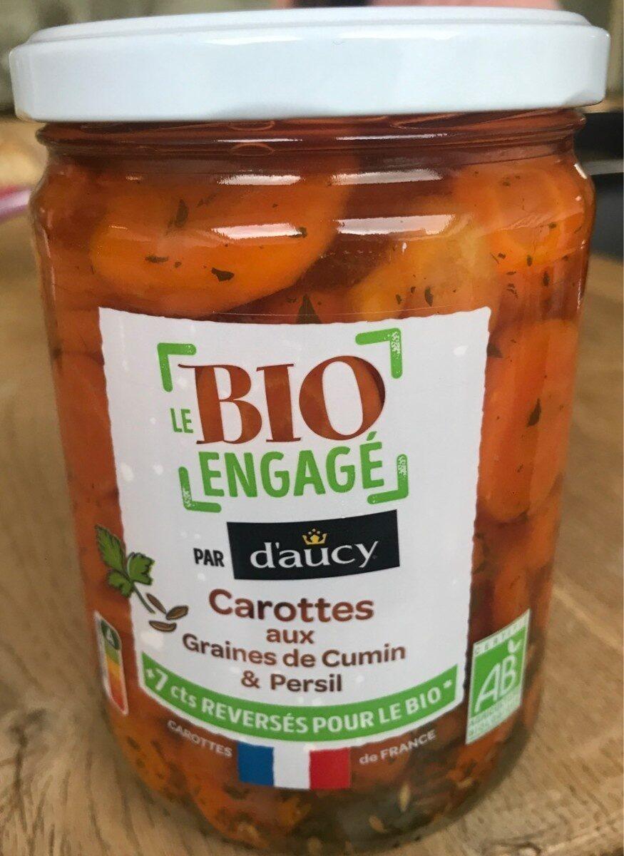 Carottes aux graines de cumin & persil - Product - fr