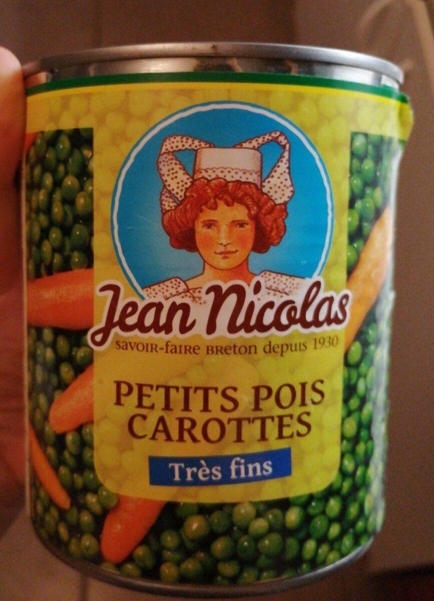 Petits pois carottes - Produit - fr