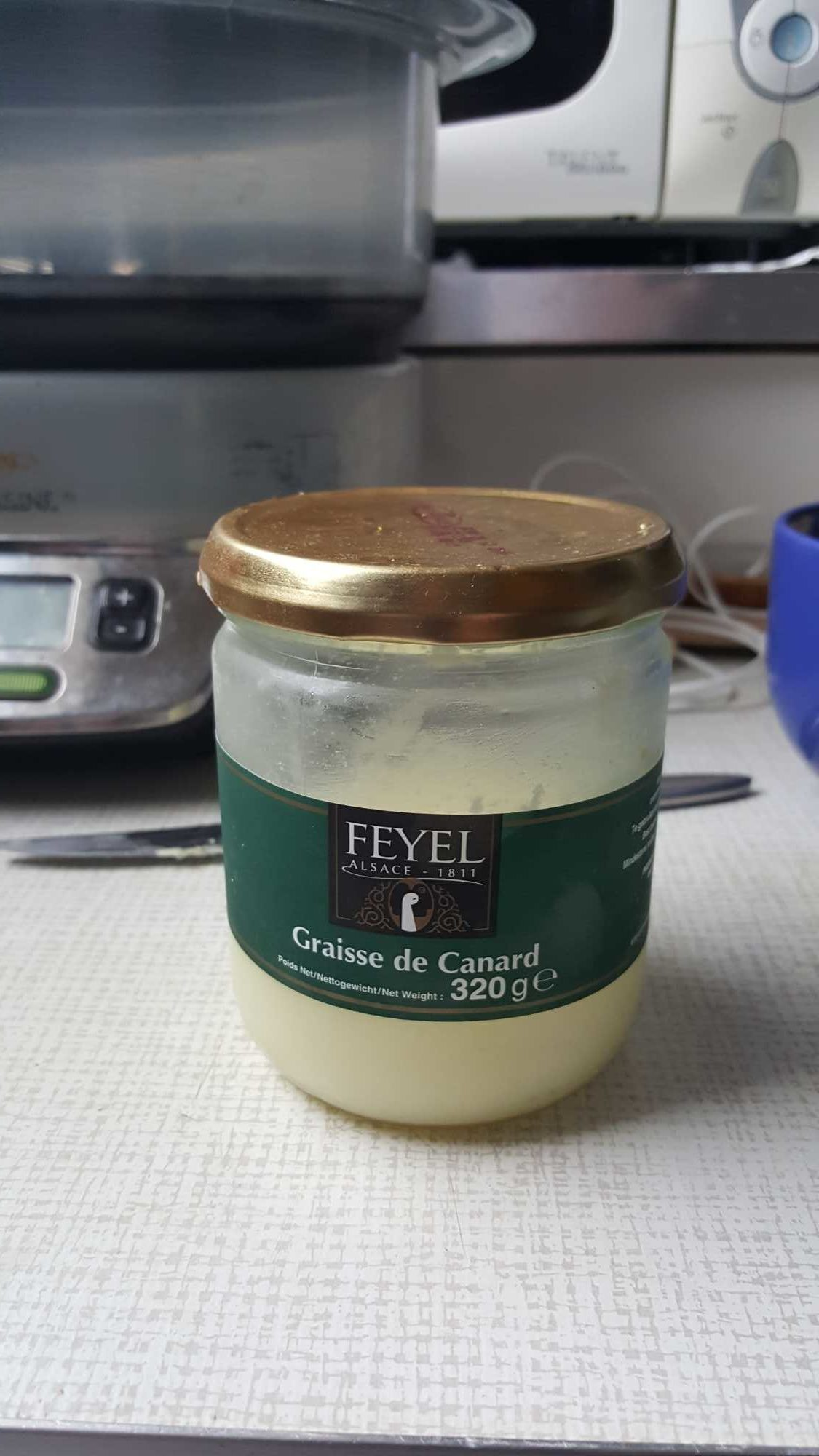 Graisse de canard bocal Feyel - Product