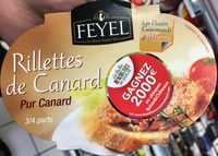 Rillettes de Canard pur Canard - Product - fr