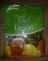 Caramelos con miel y sabor a limon - Producto - es