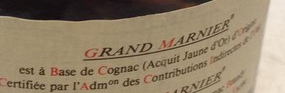 Grand Marnier - Ingrediënten - fr