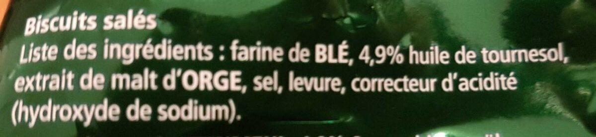 Maxi Bretzels d'Alsace 200g - Ingrédients - fr