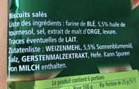 150G Branchette Sel Ancel - Ingrédients - fr