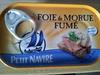 Foie de morue fumé - Petit navire - Produit