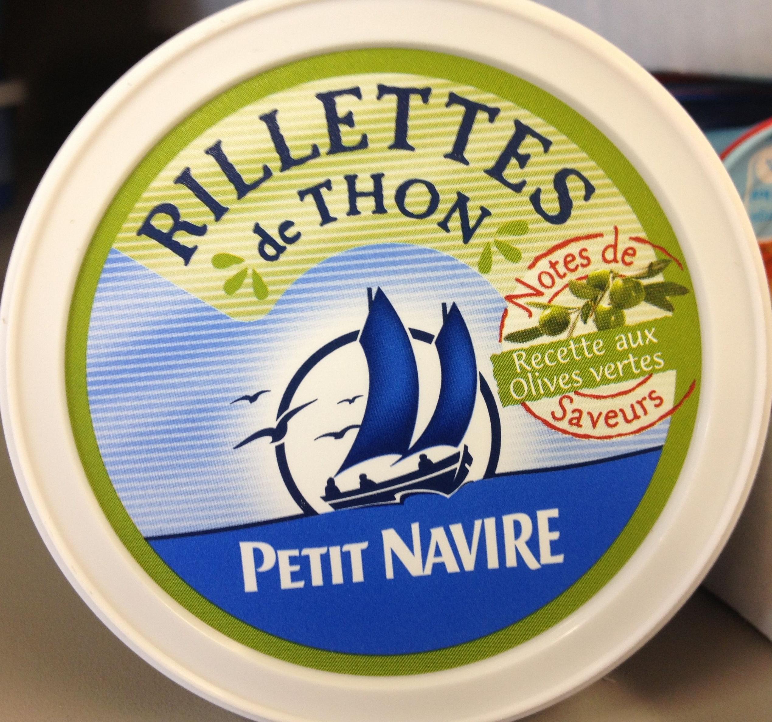 Rillettes De Thon Recette Aux Olives Vertes Petit Navire 125 G