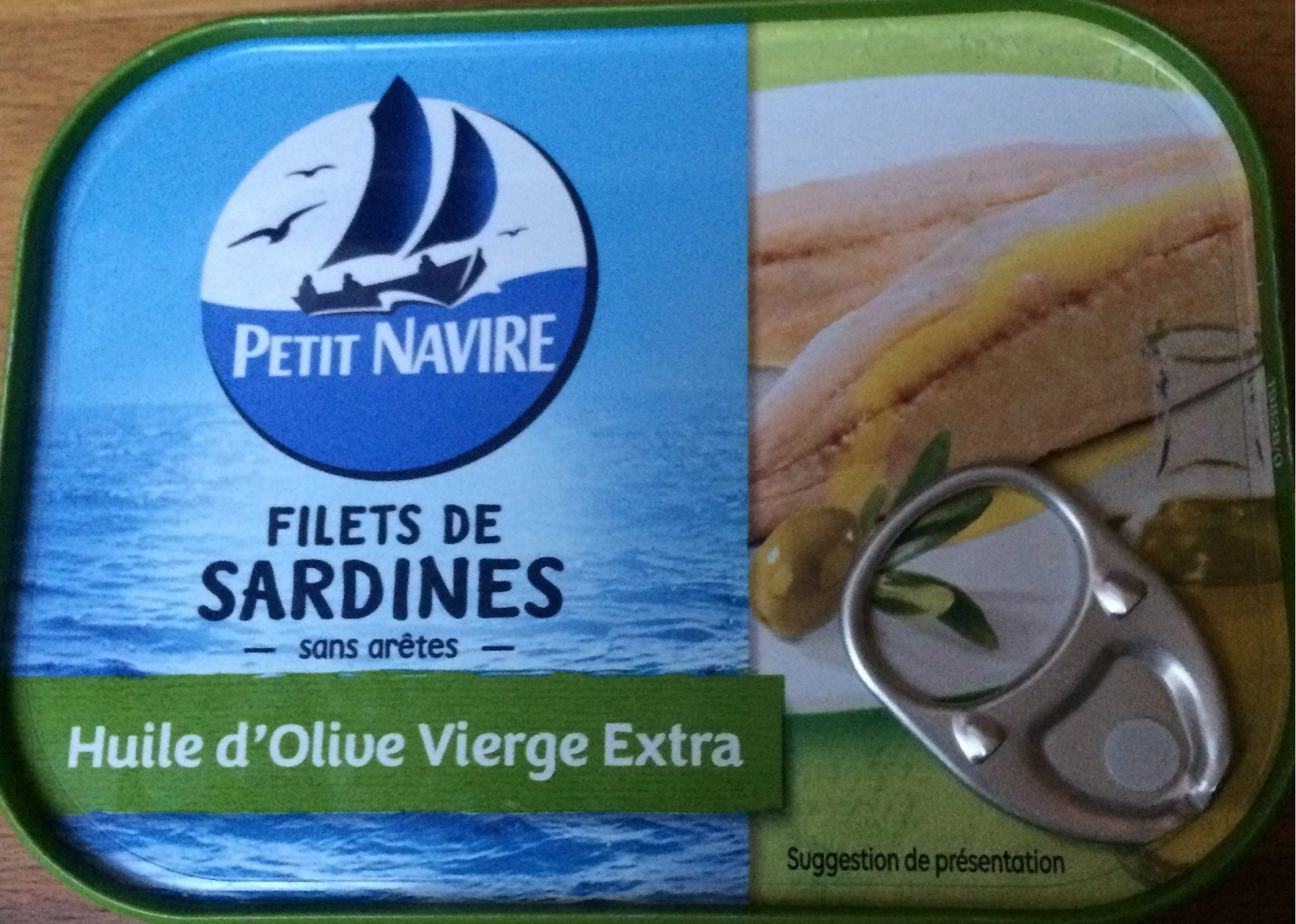 Filets de Sardines (à l'Huile d'Olive Vierge Extra) - Product - fr