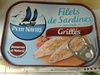 Filets de Sardines (Grillés) - Product