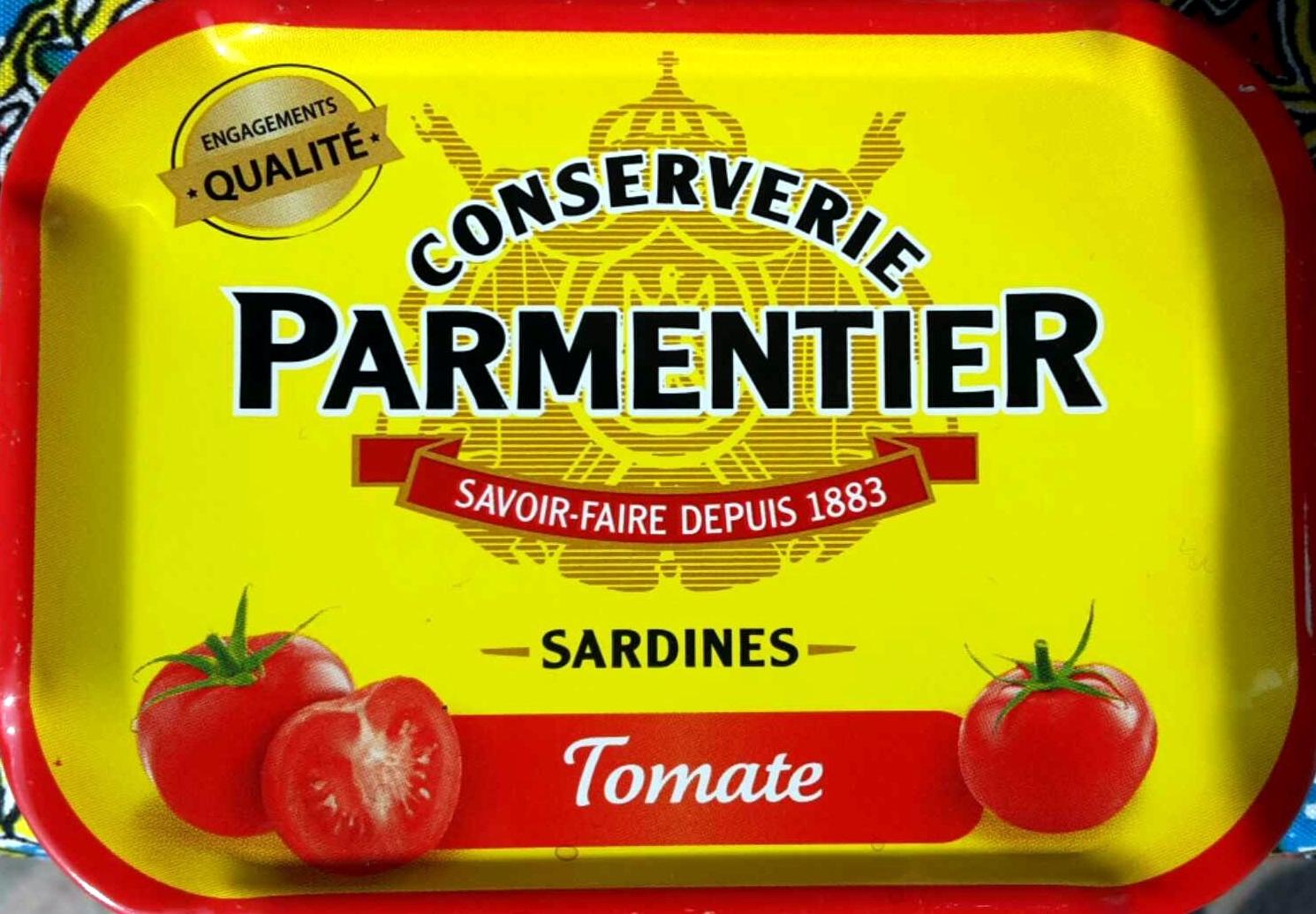 Sardines à la tomate - Produit - fr