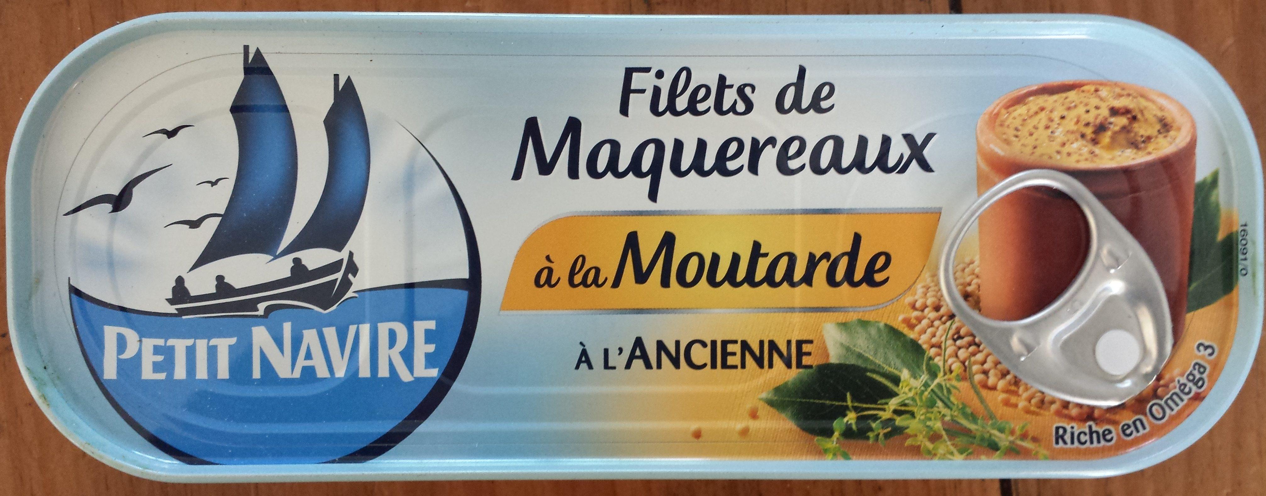 Filets de Maquereaux à la Moutarde à l'Ancienne - 製品 - fr