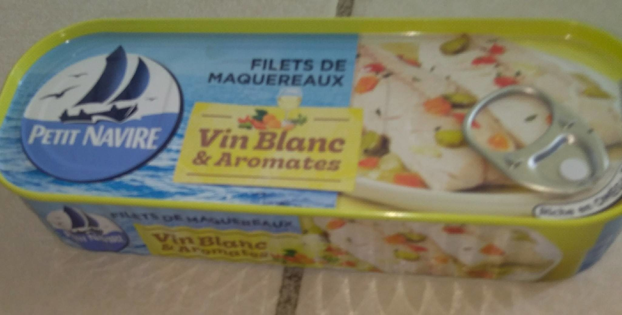 Filets de Maquereaux (au Vin Blanc... - Product