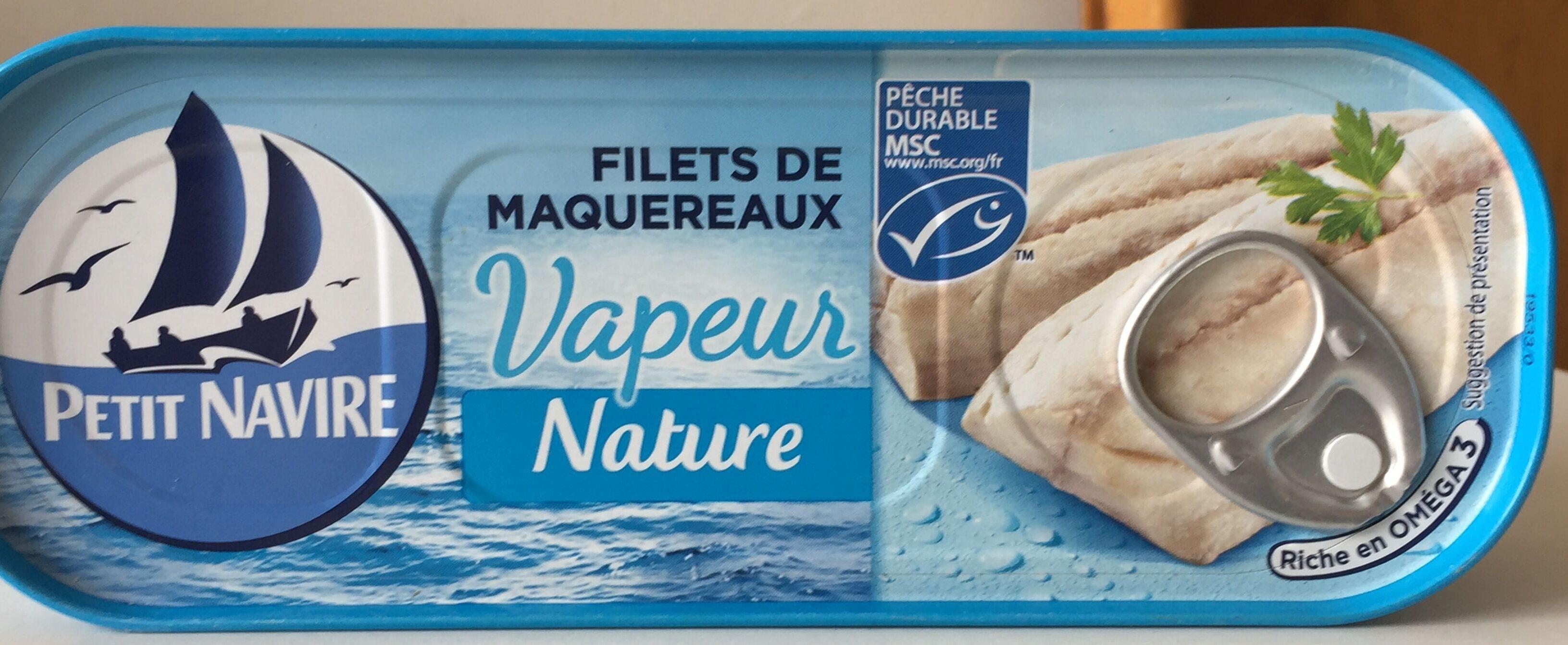 Filets de maquereaux Vapeur Nature - Produit - fr