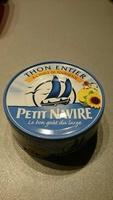 thon entier à l'huile de tournesol - Produit - fr