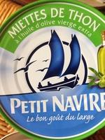 Miettes de thon à l'huile d'olive vierge extra - Produit