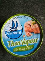 Thon Vapeur avec un filet d'huile d'olive - Product - fr