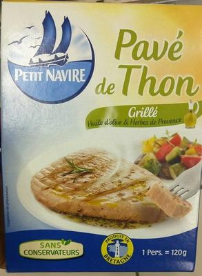 Pavé de Thon Grillé Huile d'olive et aux Herbes de Provence - Produit - fr