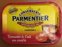 Sardines tomates à l'ail en confit - Product
