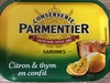 Sardines (Citron & thym en confit) - Produit