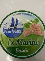 Le mariné basilic - Produit - fr