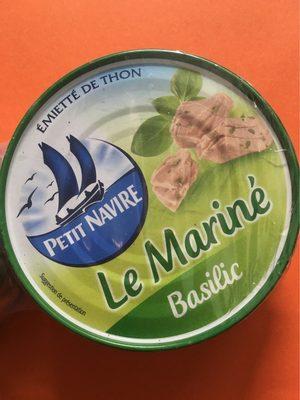 Emietté de thon Le Mariné basilic - Product - fr
