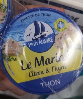 Emietté de thon Le Mariné citron & thym - Informations nutritionnelles - fr