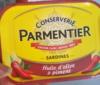 sardines huile et piment - Produit