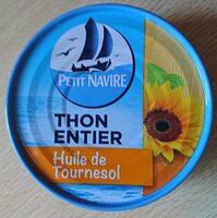 Thon entier à l'huile de tournesol - Prodotto - fr