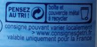 Thon entier à l'huile de tournesol - Istruzioni per il riciclaggio e/o informazioni sull'imballaggio - fr