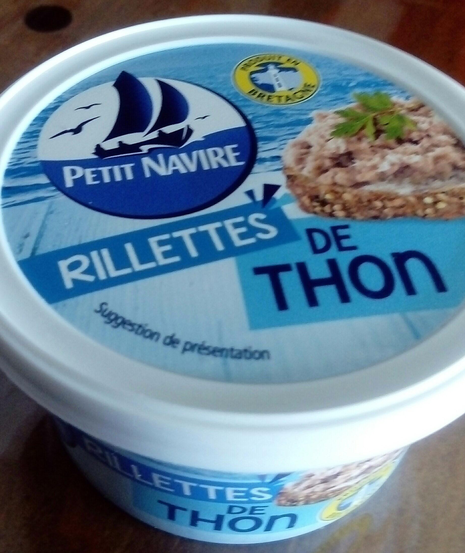 Rillettes thon - Produit - fr