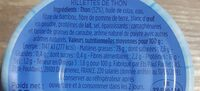 Rillettes thon - Ingrédients - fr