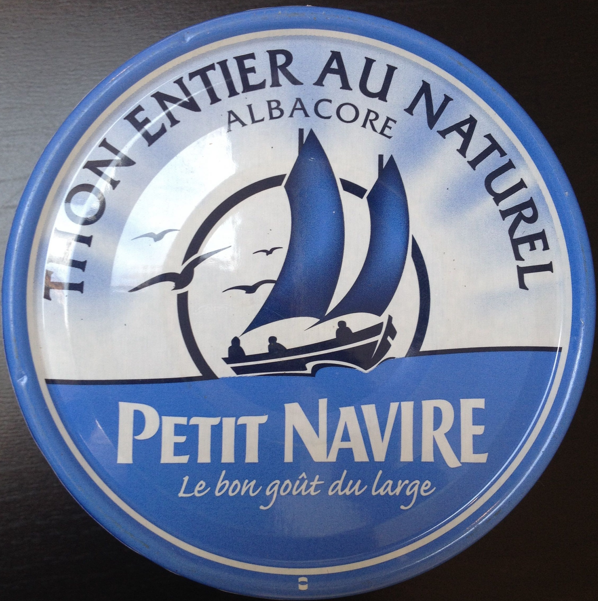 Thon entier au naturel - Albacore - Product