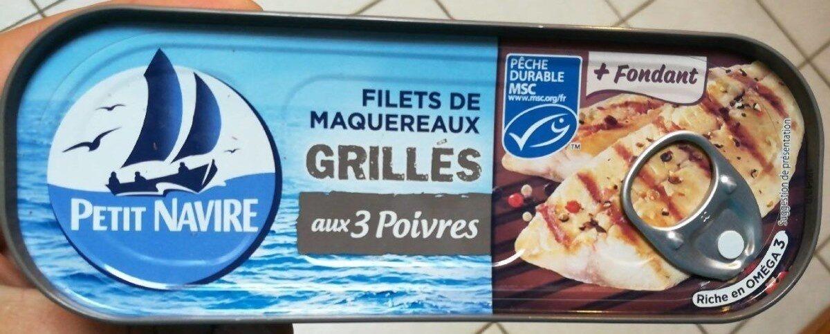 Filets de Maquereaux  Grillé aux 3 Poivres - Product - fr