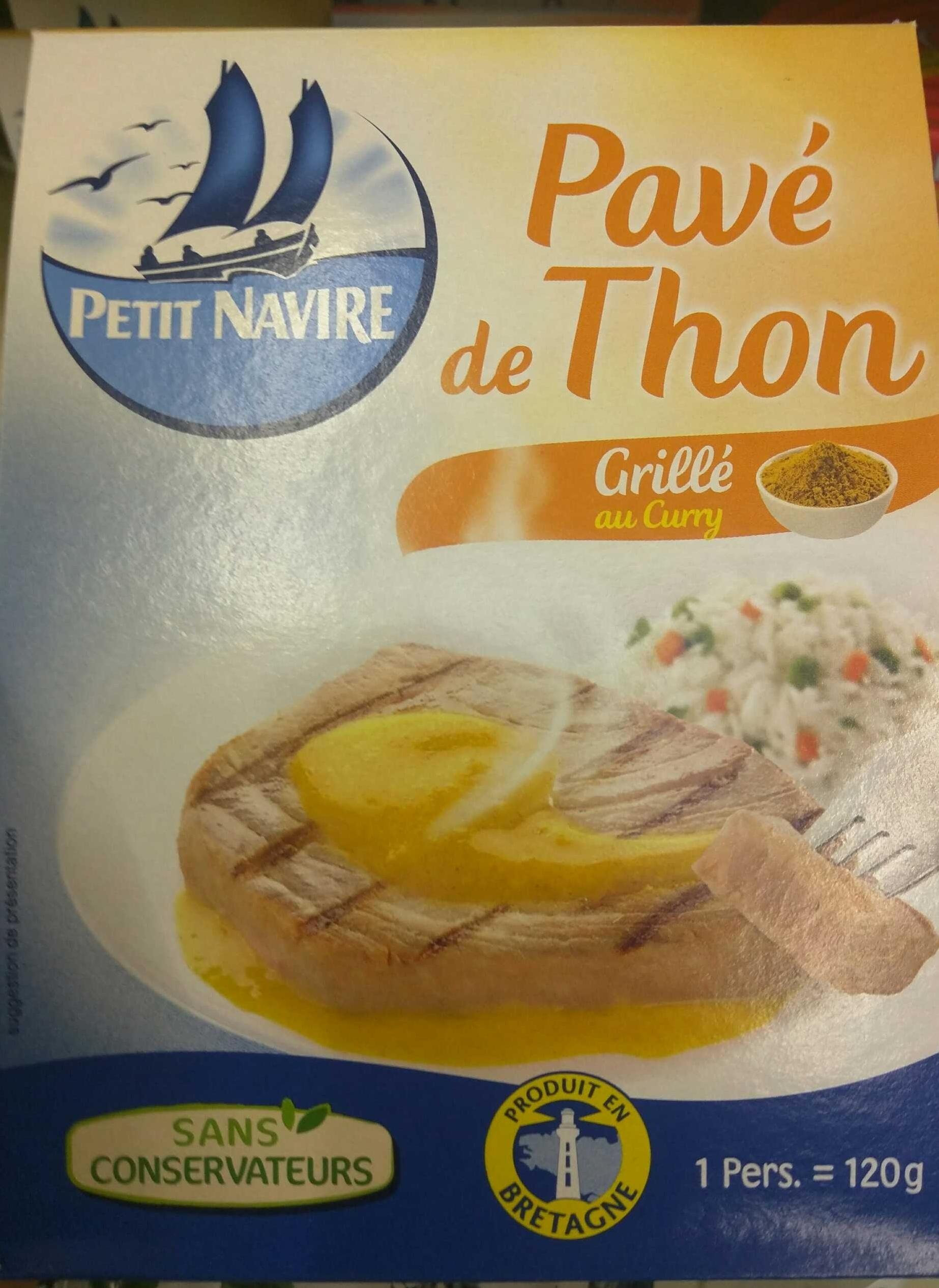 Pavé de Thon grillé au Curry - Produit