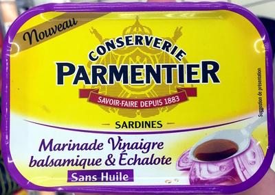 Sardines (Marinade Vinaigre balsamique & Échalote, Sans Huile) - Product - fr