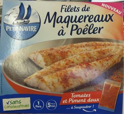Filets de Maquereaux à Poêler - Produit - fr