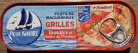 Filets de Maquereaux Grillés Tomates & Herbes de Provence - Product