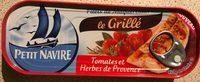 Filets de Maquereaux le Grillé Tomates et Herbes de provence - 製品 - fr