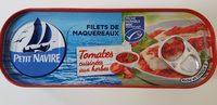 Filet de Maquereaux - Tomates et herbes - 製品 - fr