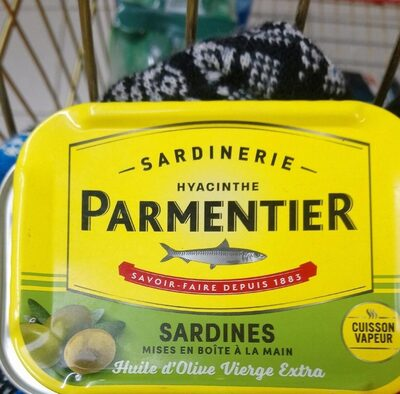 Sardines à l'huile d'olive - Product - fr